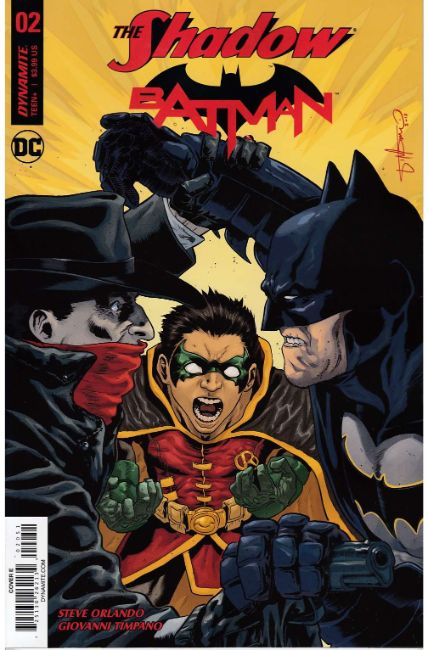 Shadow Batman #2 Cover E [Dynamite Comic] THUMBNAIL