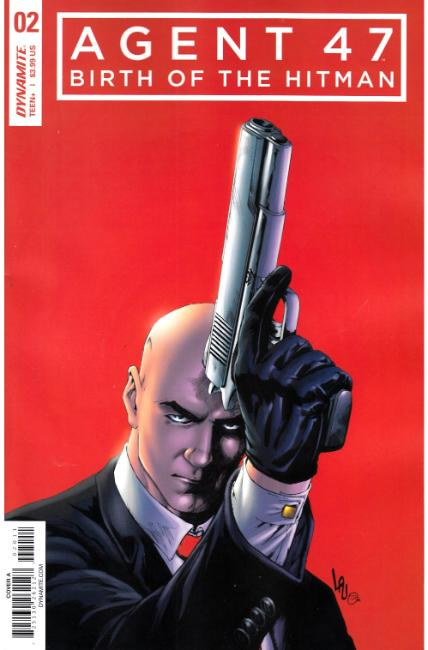 Agent 47 Birth of Hitman #2 Cover A [Dynamite Comic] THUMBNAIL