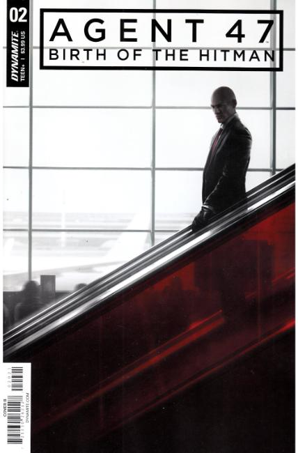 Agent 47 Birth of Hitman #2 Cover B [Dynamite Comic] THUMBNAIL