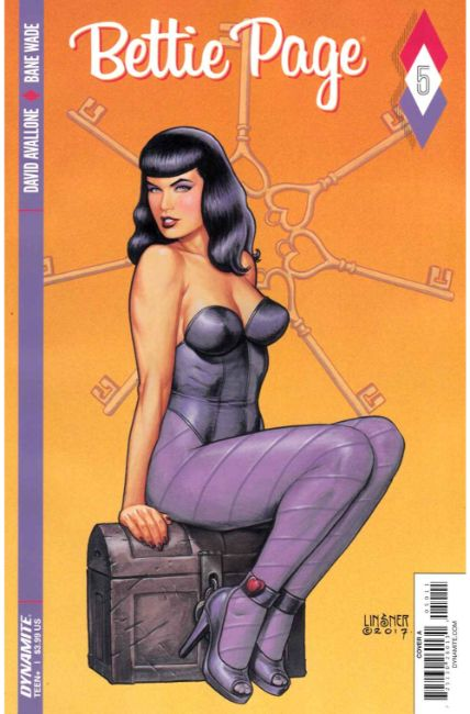 Bettie Page #5 Cover A [Dynamite Comic] THUMBNAIL