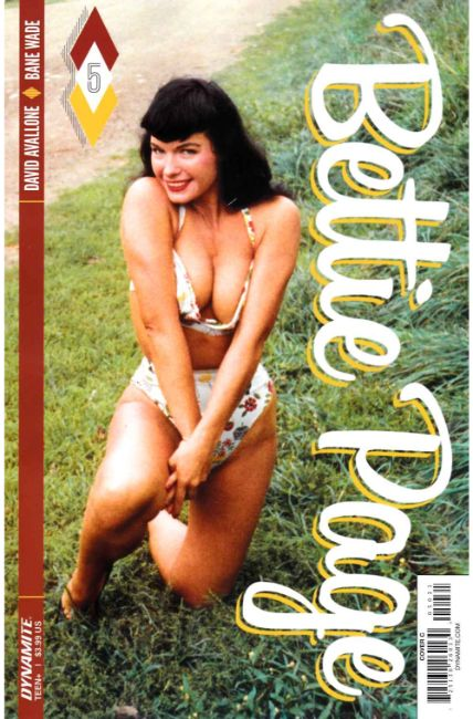 Bettie Page #5 Cover C [Dynamite Comic] THUMBNAIL