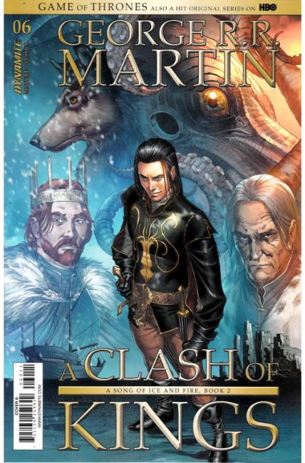 Game of Thrones Clash of Kings #6 Cover A [Dynamite Comic] THUMBNAIL