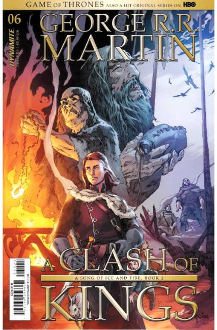 Game of Thrones Clash of Kings #6 Cover B [Dynamite Comic] THUMBNAIL