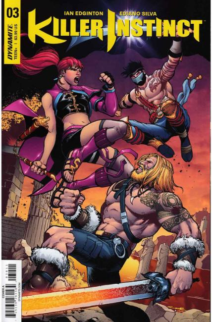 Killer Instinct #3 Cover A [Dynamite Comic] THUMBNAIL