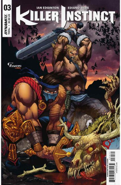 Killer Instinct #3 Cover C [Dynamite Comic] THUMBNAIL