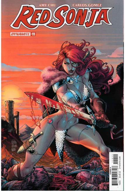 Red Sonja #11 Cover A [Dynamite Comic] THUMBNAIL
