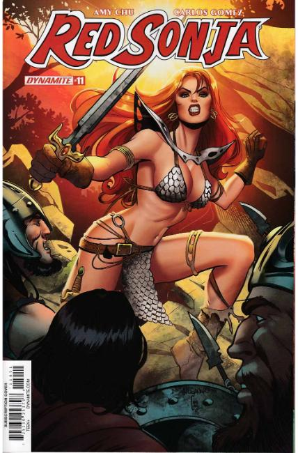 Red Sonja #11 Cover E [Dynamite Comic] THUMBNAIL