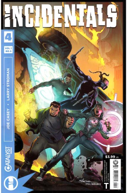 Catalyst Prime Incidentals #4 [Lion Forge Comic] THUMBNAIL