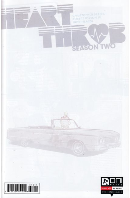 Heartthrob Season 2 #5 [Oni Press Comic] THUMBNAIL