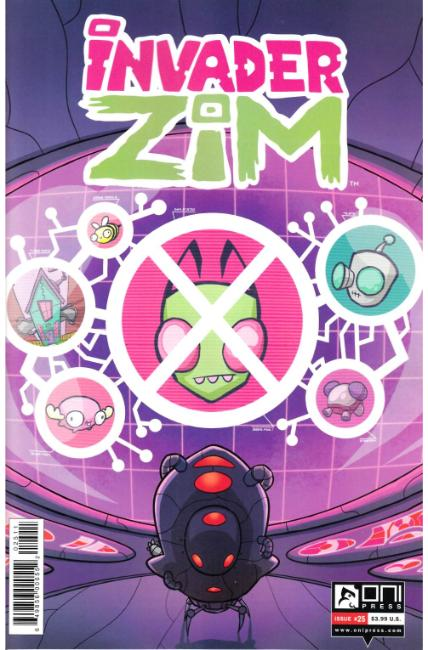 Invader Zim #25 [Oni Press Comic] THUMBNAIL
