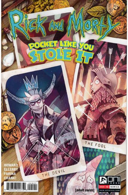 Rick & Morty Pocket Like You Stole It #5 Kirkby Variant Cover [Oni Press Comic] THUMBNAIL