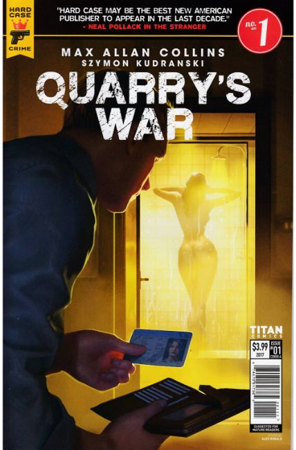 Quarry's War #1 Cover A [Titan Comic] THUMBNAIL