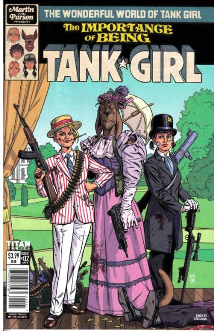 Wonderful World of Tank Girl #2 Cover B [Titan Comic] THUMBNAIL