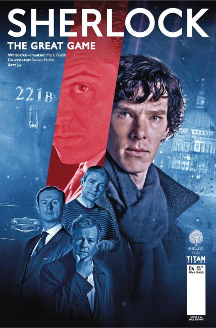 Sherlock Great Game #4 Cover B [Titan Comic]_THUMBNAIL