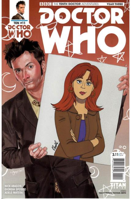 Doctor Who 10th Doctor Year Three #11 Cover A [Titan Comic] THUMBNAIL