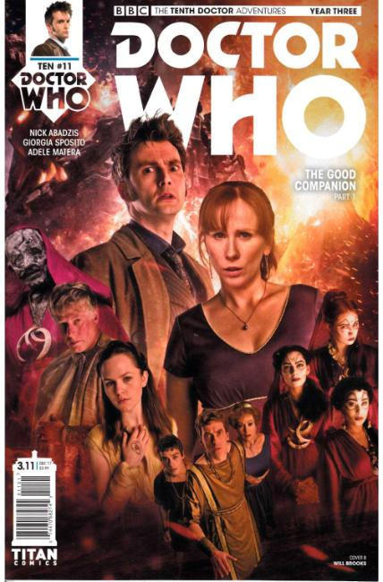 Doctor Who 10th Doctor Year Three #11 Cover B [Titan Comic] THUMBNAIL