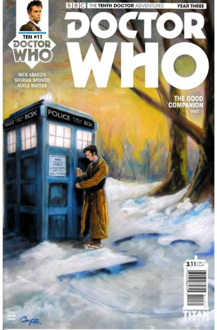 Doctor Who 10th Doctor Year Three #11 Cover C [Titan Comic] THUMBNAIL