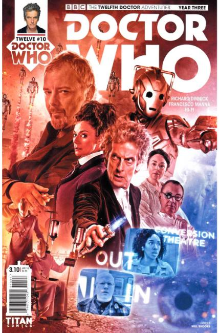 Doctor Who 12th Doctor Year Three #10 Cover B [Titan Comic] THUMBNAIL
