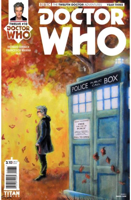 Doctor Who 12th Doctor Year Three #10 Cover C [Titan Comic] THUMBNAIL