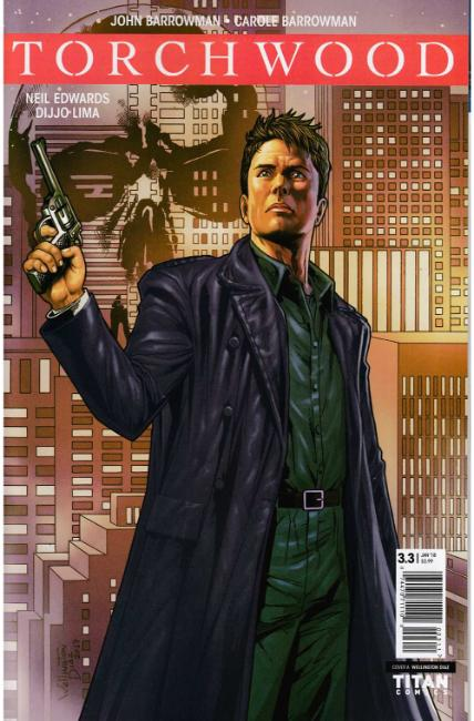 Torchwood the Culling #3 Cover A [Titan Comic] THUMBNAIL