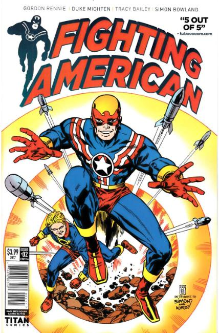 Fighting American #2 Cover A [Titan Comic] THUMBNAIL