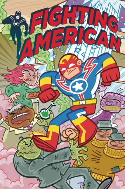 Fighting American #2 Cover B [Titan Comic]