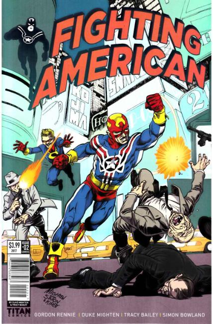 Fighting American #2 Cover C [Titan Comic]