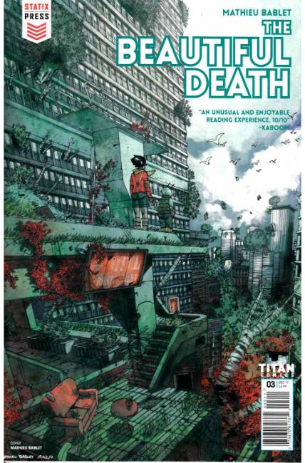 The Beautiful Death #3 [Titan Comic] THUMBNAIL