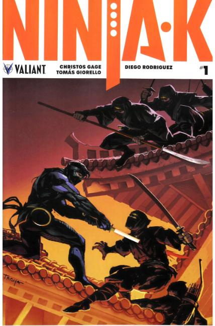 Ninja-K #1 Cover B [Valiant Comic]