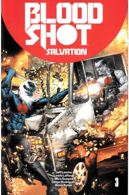 Bloodshot Salvation #3 Cover C [Valiant Comic] THUMBNAIL