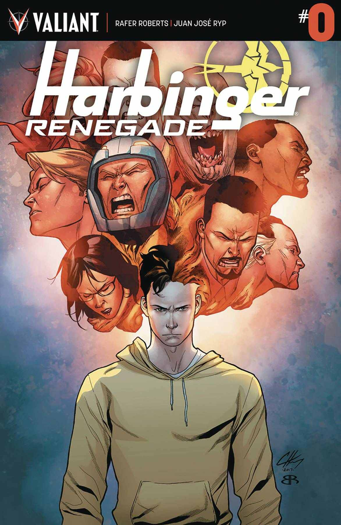 Harbinger Renegade #0 Cover A [Valiant Comic]