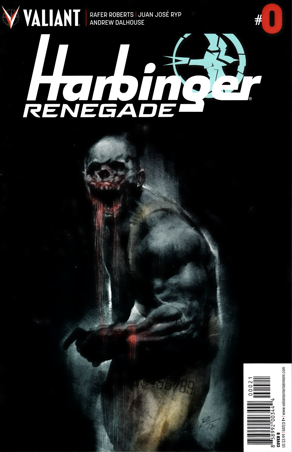 Harbinger Renegade #0 Cover B [Valiant Comic]
