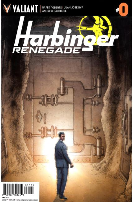 Harbinger Renegade #0 Cover C [Valiant Comic]
