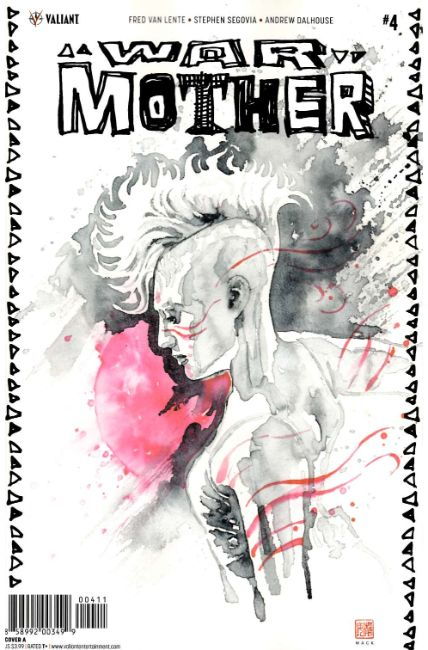 War Mother #4 Cover A [Valiant Comic]