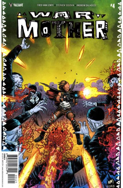 War Mother #4 Cover B [Valiant Comic]