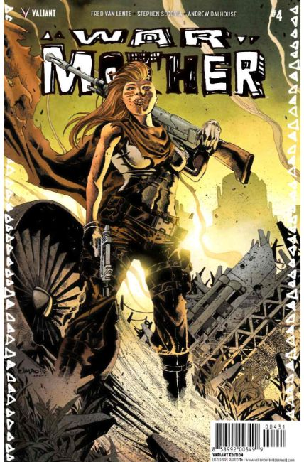 War Mother #4 Cover C- Salgado Variant [Valiant Comic]
