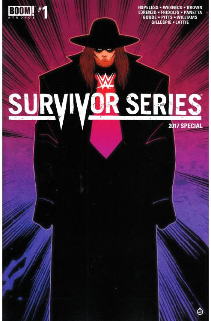WWE Survivors Series 2017 Special #1 FOC Doe Cover [Boom Comic] THUMBNAIL