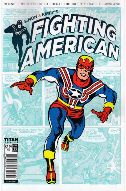 Fighting American #3 Cover C [Titan Comic]