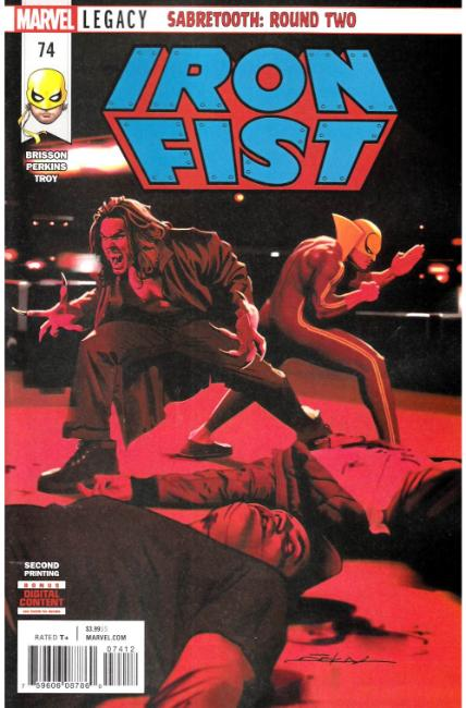 Iron Fist #74 Second Printing [Marvel Comic] THUMBNAIL