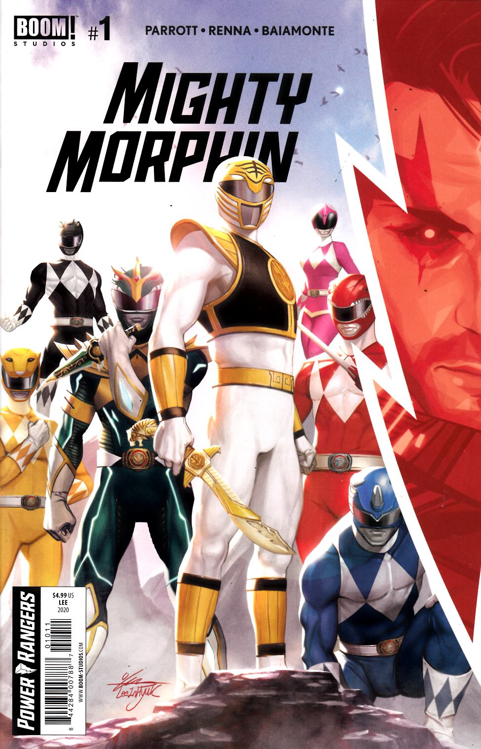 Mighty Morphin #1 Cover A Near Mint (9.4) [Boom Comic] THUMBNAIL