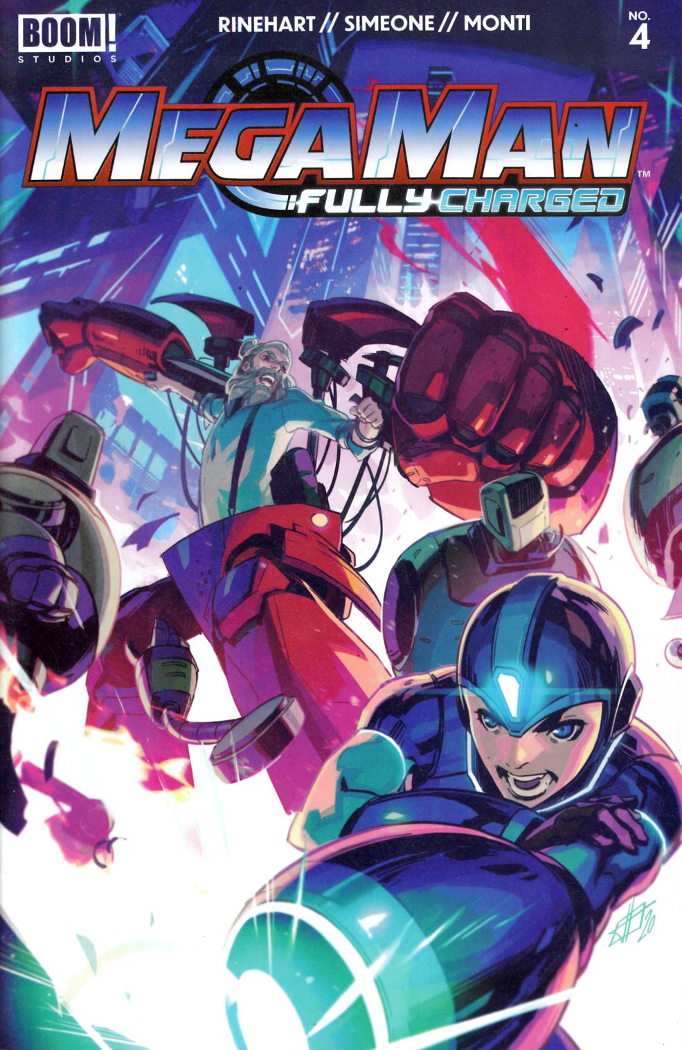 Mega Man Fully Charged #4 Near Mint (9.4) [Boom Comic] THUMBNAIL