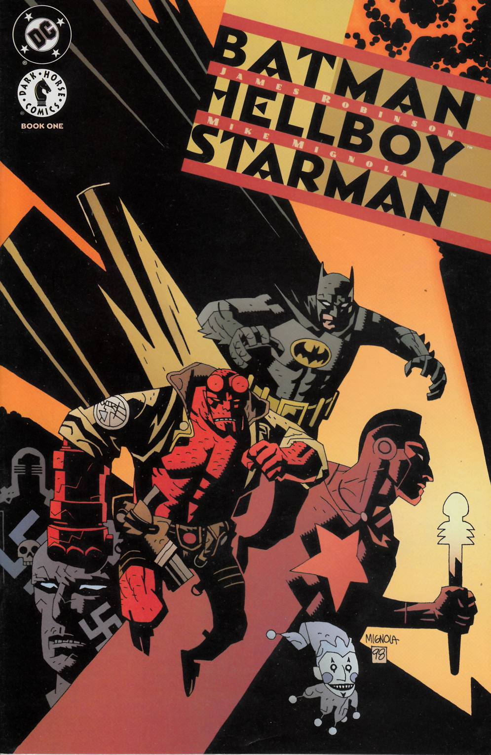 Batman Hellboy Starman #1 Very Fine Plus (8.5) [Dark Horse Comic] THUMBNAIL