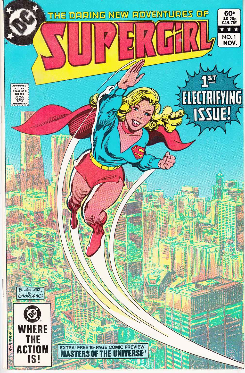 Supergirl #1 Fine/Very Fine (7.0) [DC Comic] THUMBNAIL