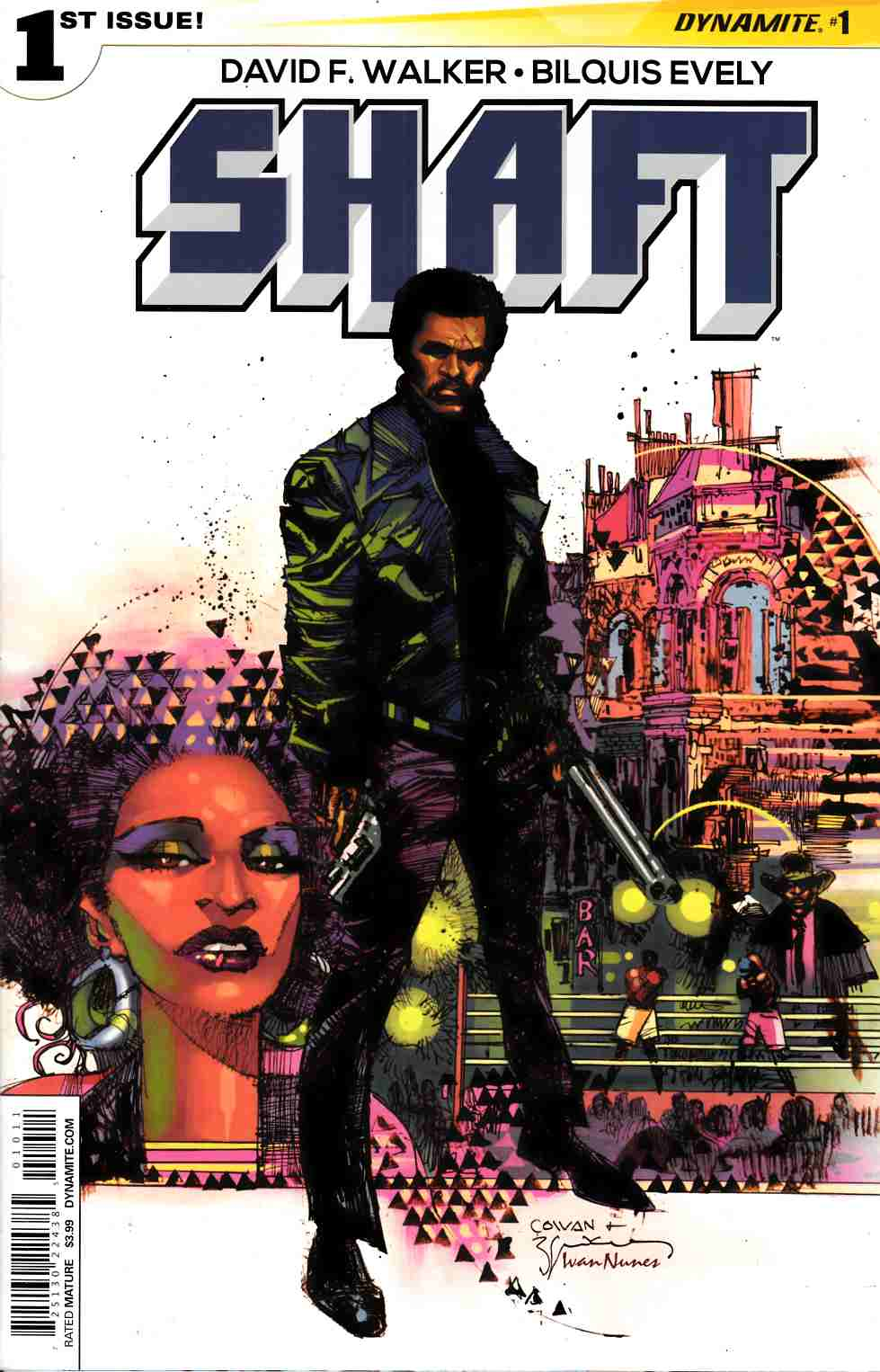 Shaft #1 Cover A- Cowan [Dynamite Comic]