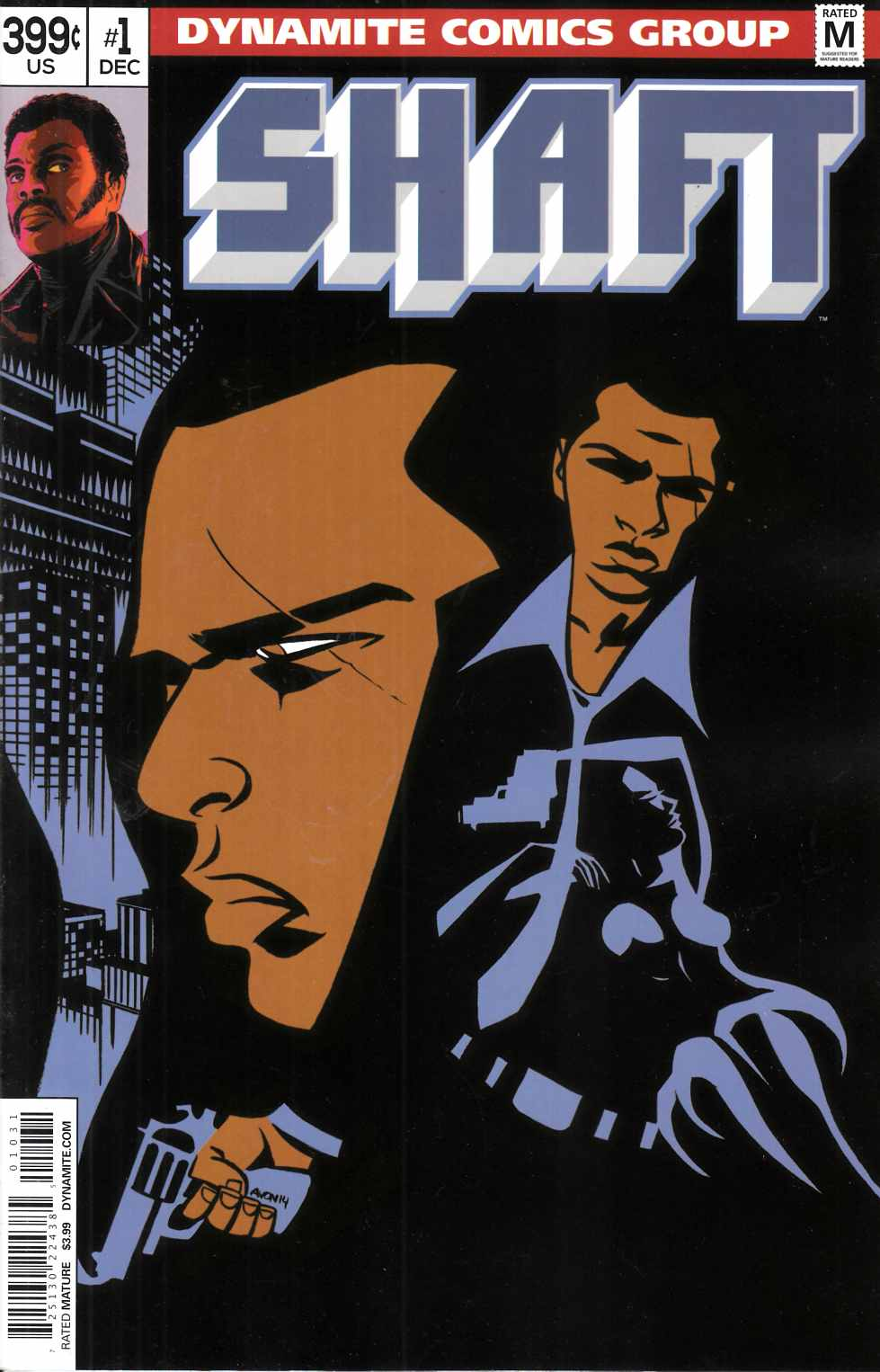 Shaft #1 Cover C- Oeming [Dynamite Comic] THUMBNAIL