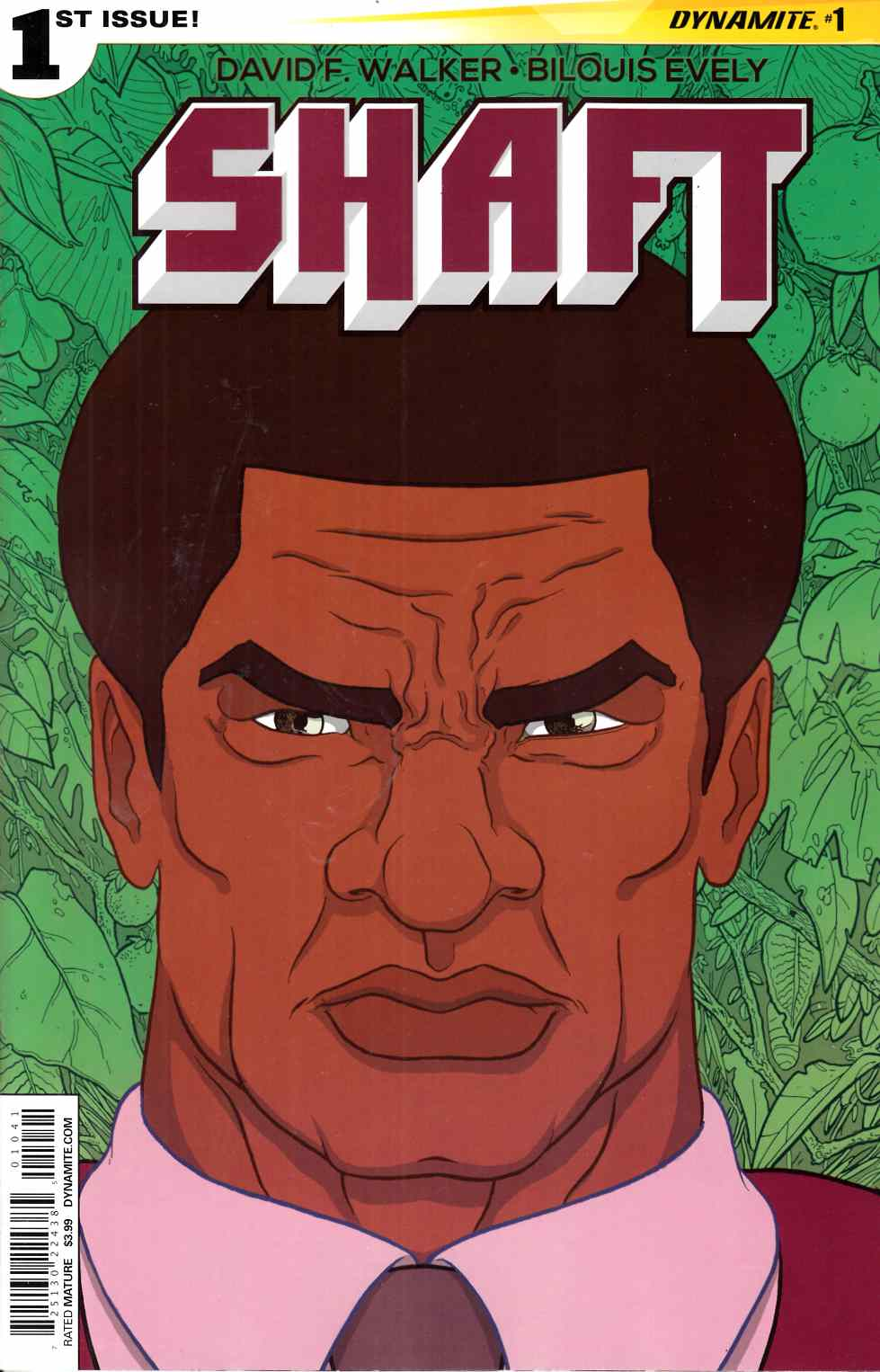 Shaft #1 Cover D- Farinas [Dynamite Comic]