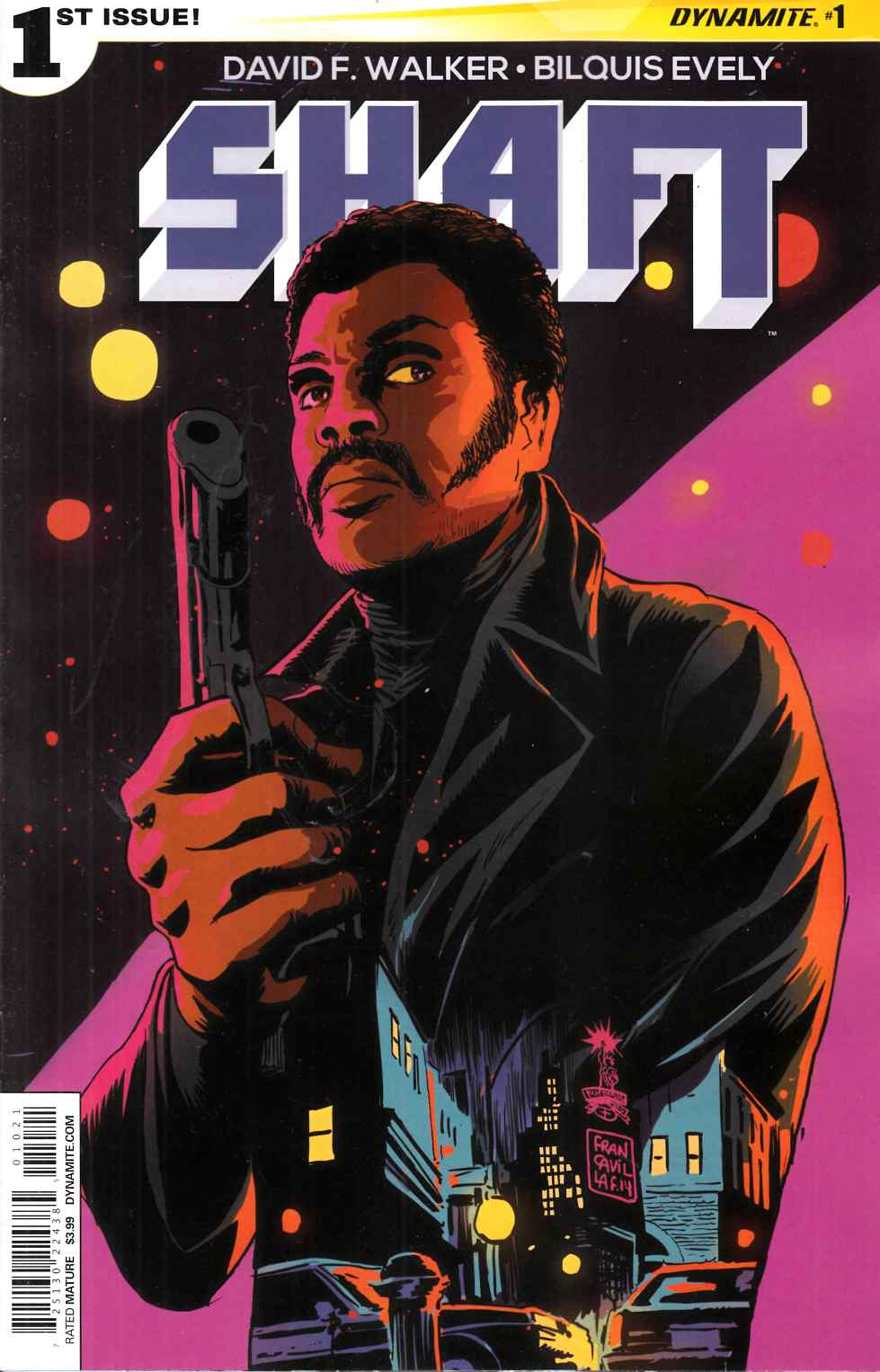 Shaft #1 Cover B- Francavilla [Dynamite Comic]