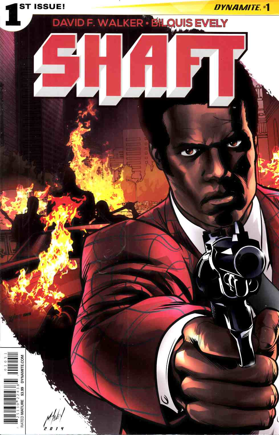 Shaft #1 Cover E- Haley [Dynamite Comic]