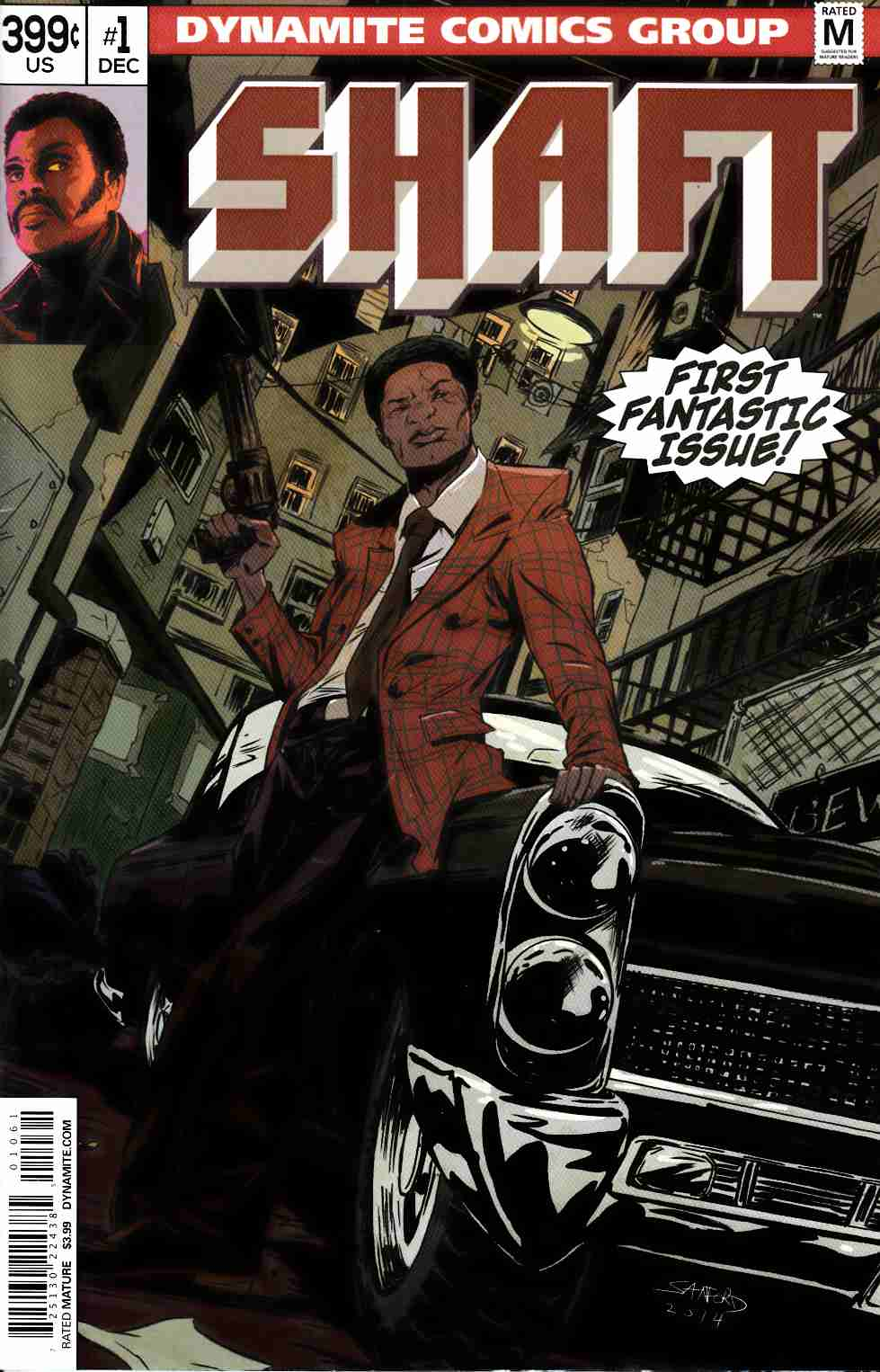Shaft #1 Cover F- Greene Subscription [Dynamite Comic]