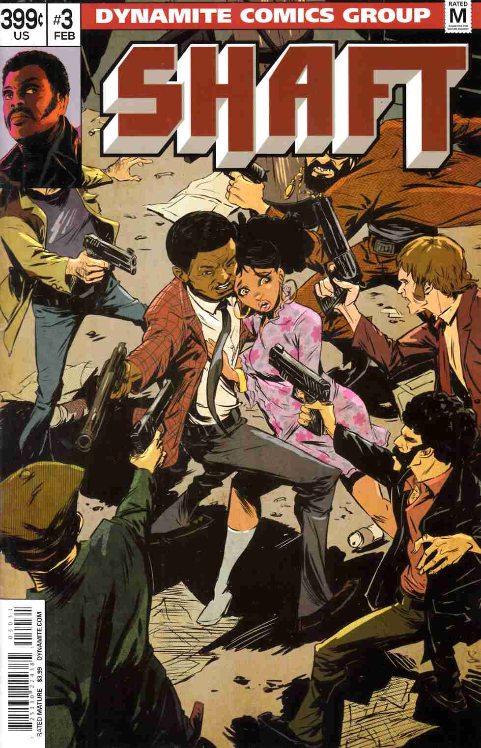 Shaft #3 Cover C- Greene Subscription [Dynamite Comic]